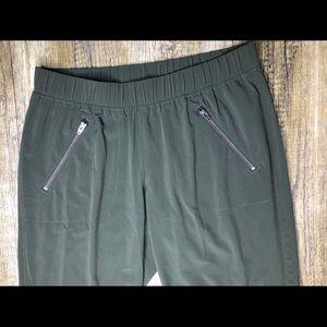 Army Green Athleta Crop Pants
